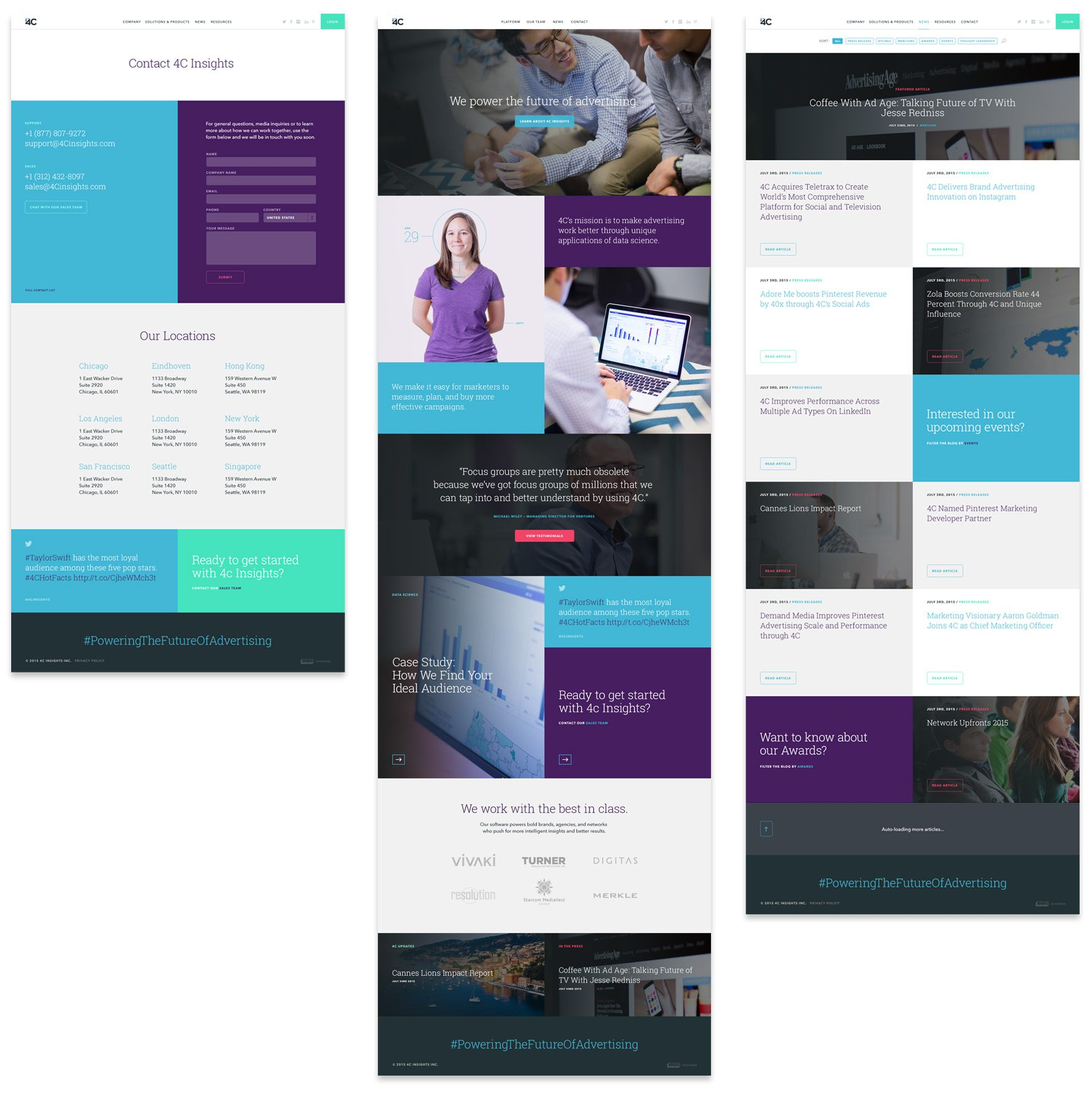 4C internal pages
