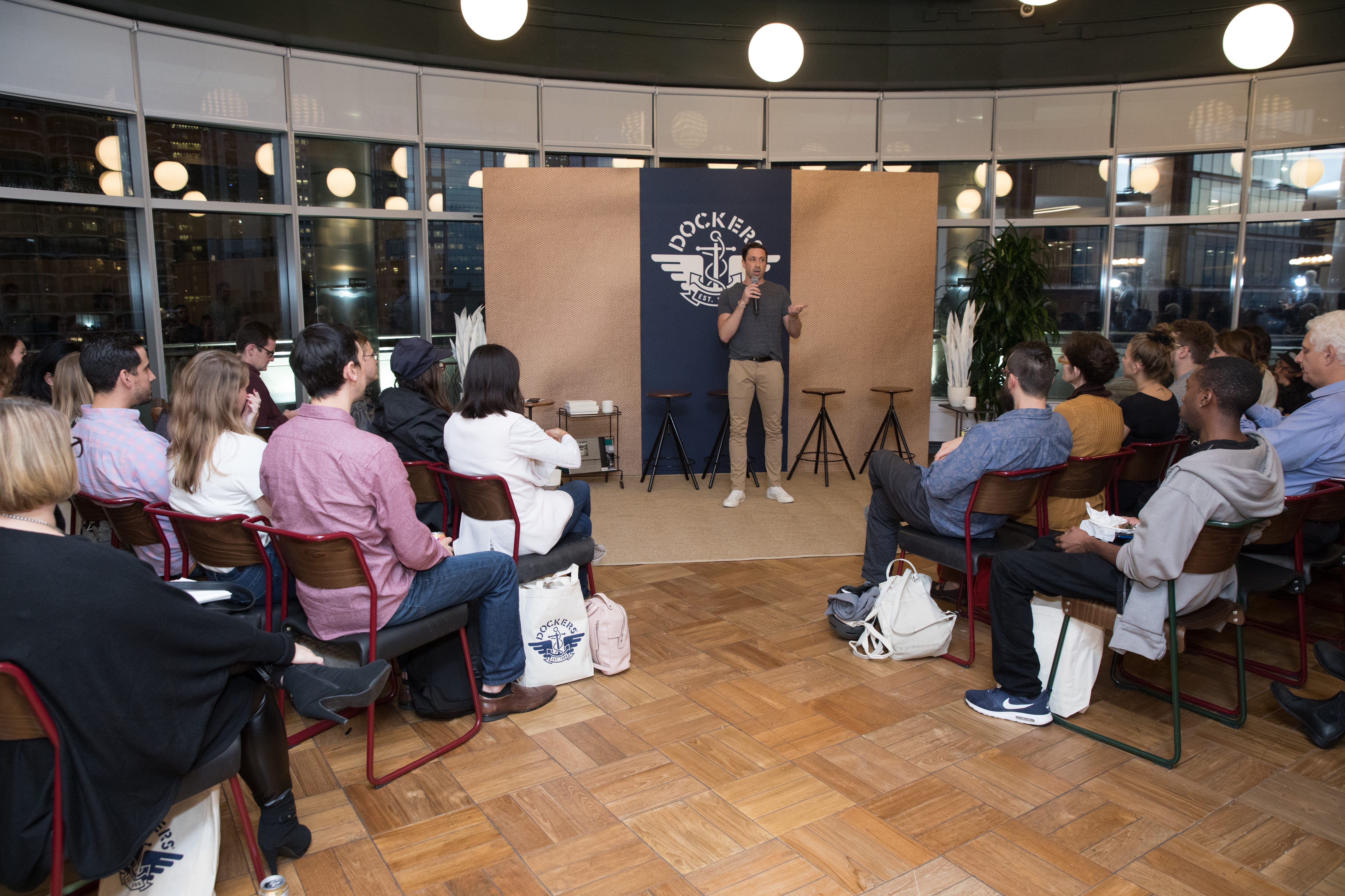Dockers WeWork Always On Sessions Introductions