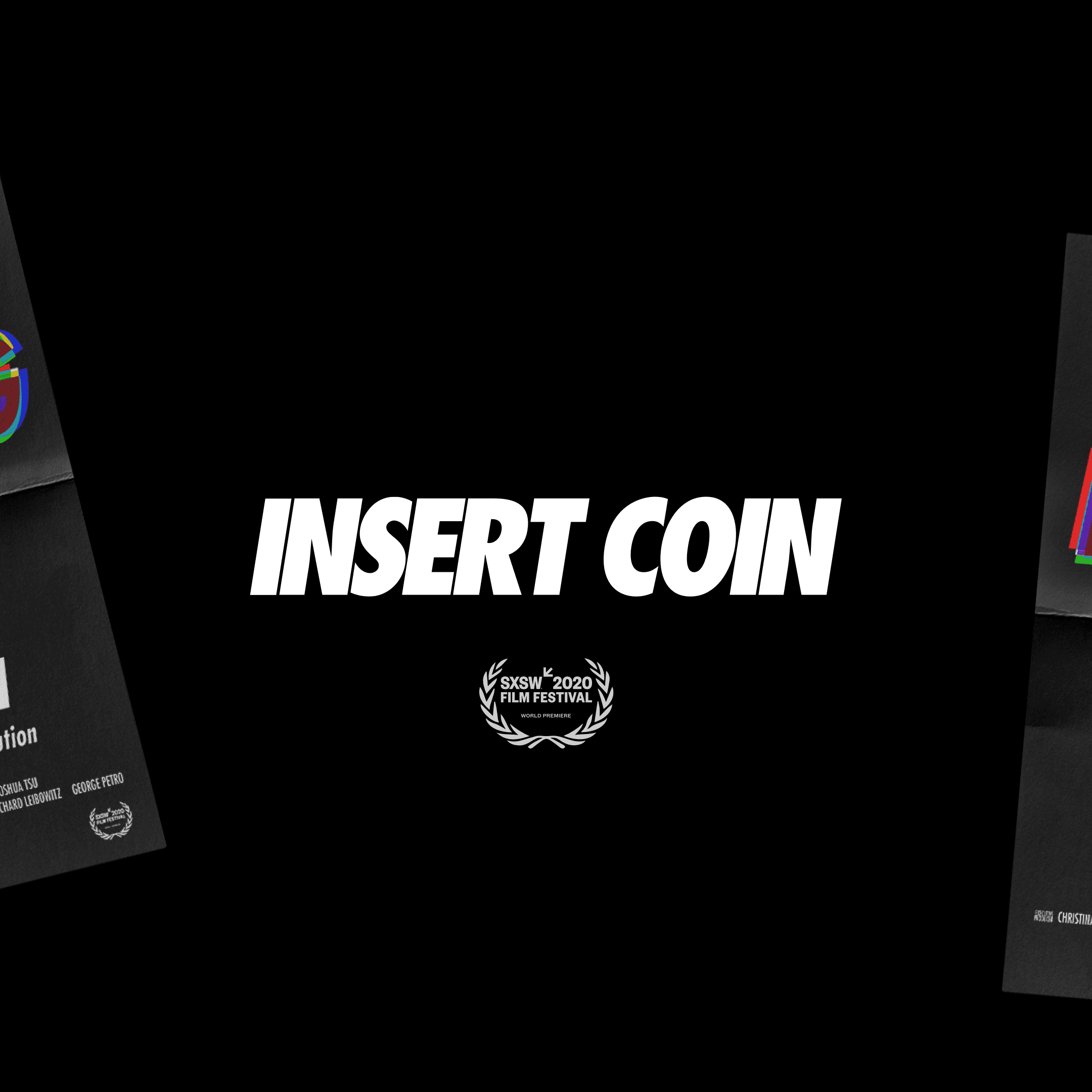 Insert Coin SXSW 2020 Documentary Debut Poster 2