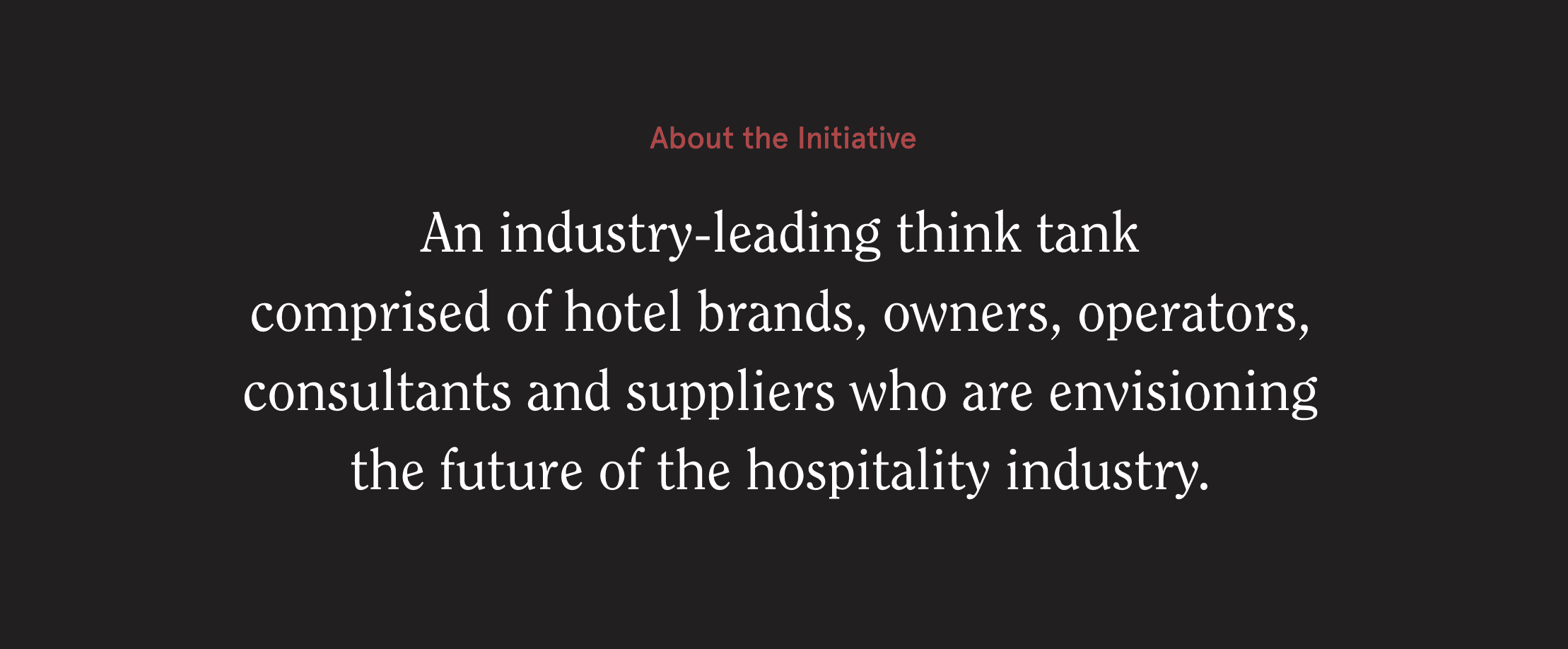 About the Hotel of Tomorrow